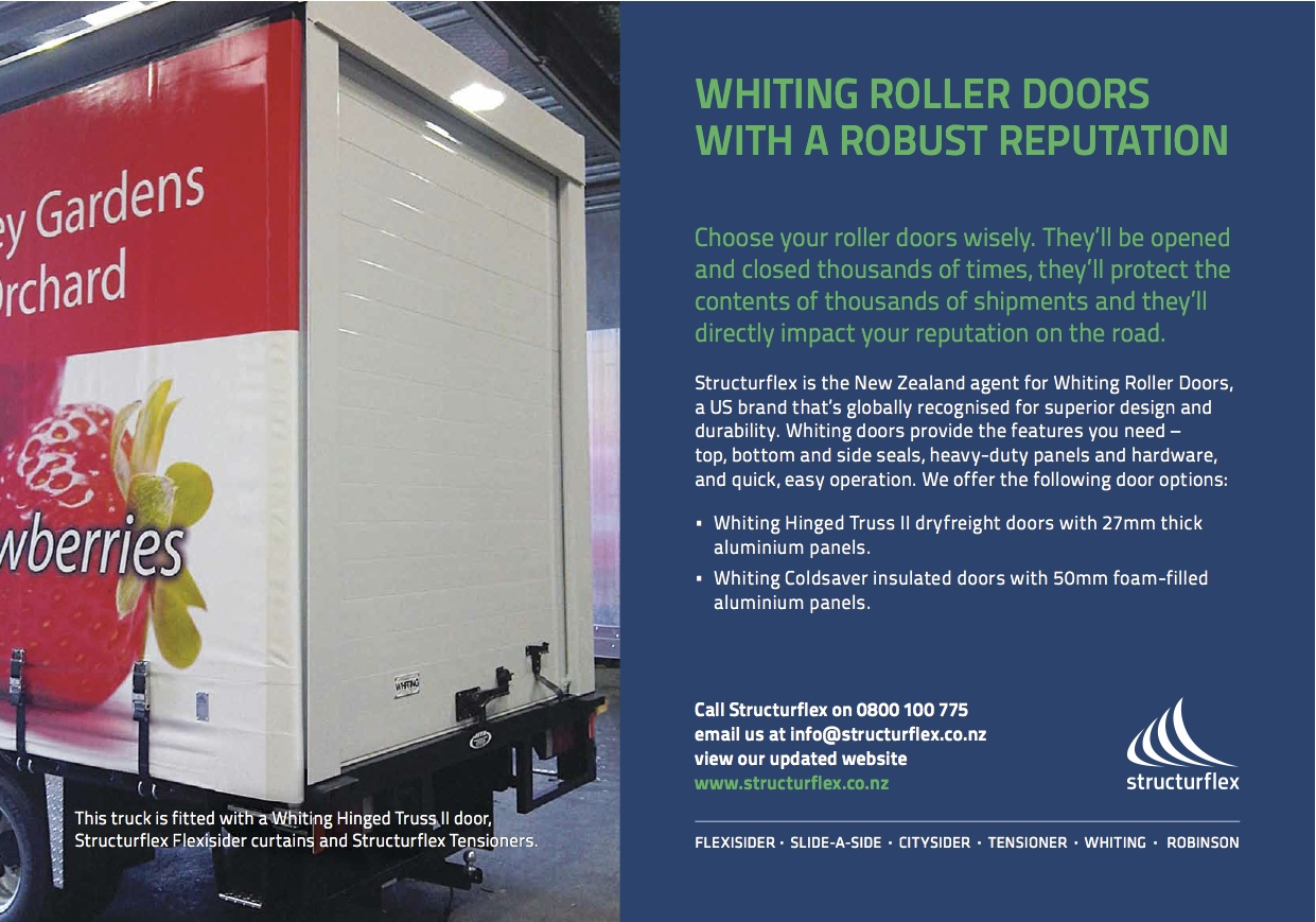 Share & Truck and Driver advertisement featuring Whiting Roller Doors ...